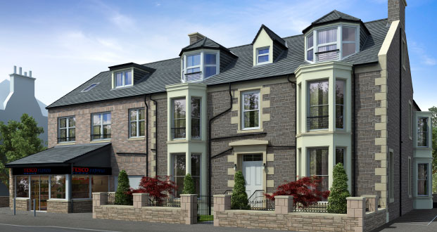 New Build Flats and Apartments in Bridge of Allan, Stirling